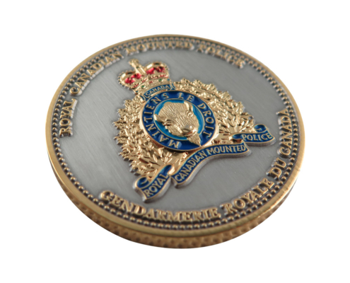 personalized military commemorative coin