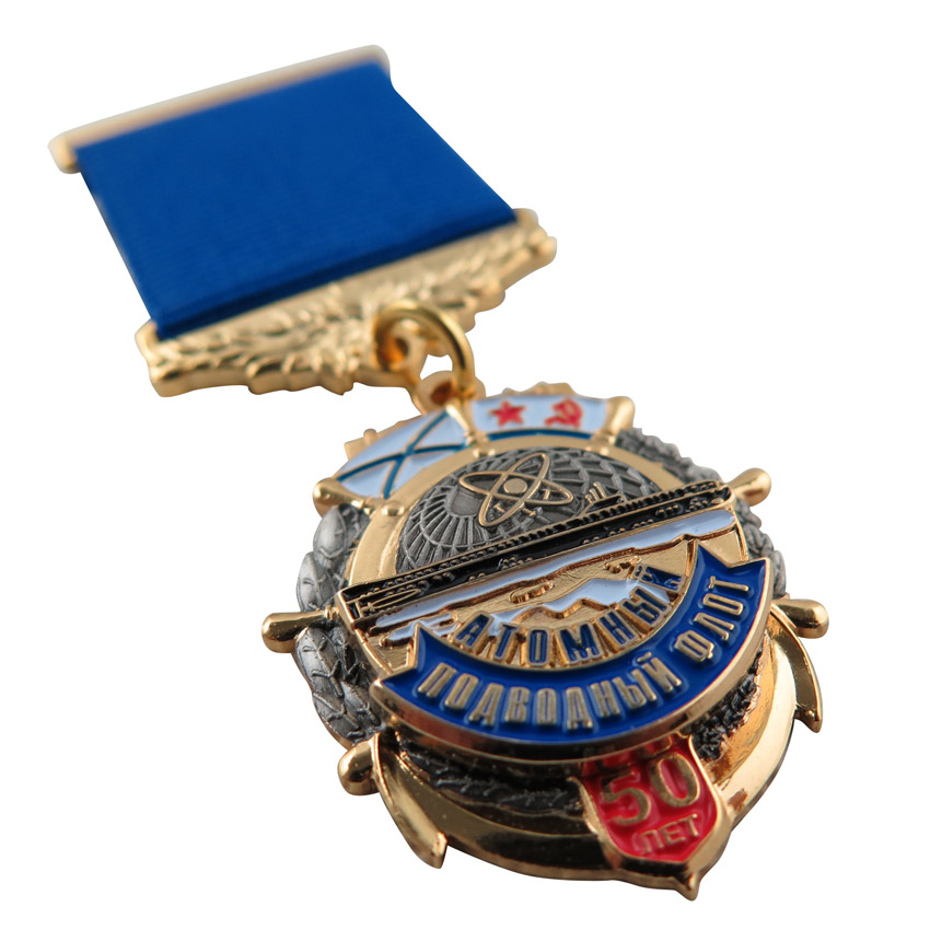 high quality customized multi layer military medal