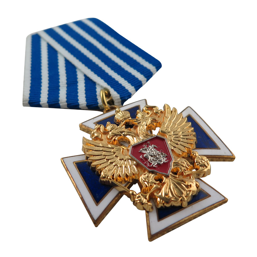 multi-layer hard enamel award medal