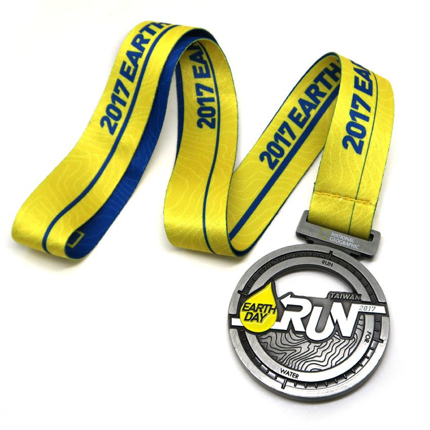 custom made race runner souvenir medals