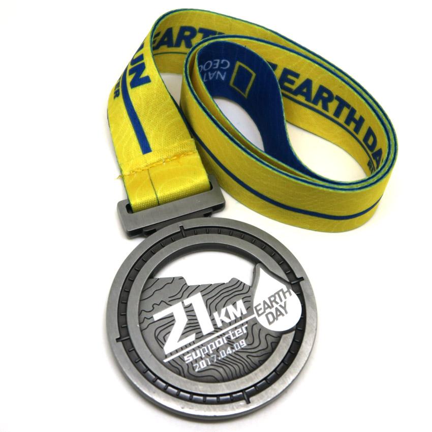 zinc alloy marathon finisher sports medals