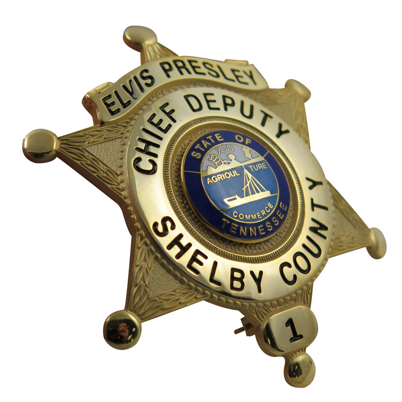 custom police badge