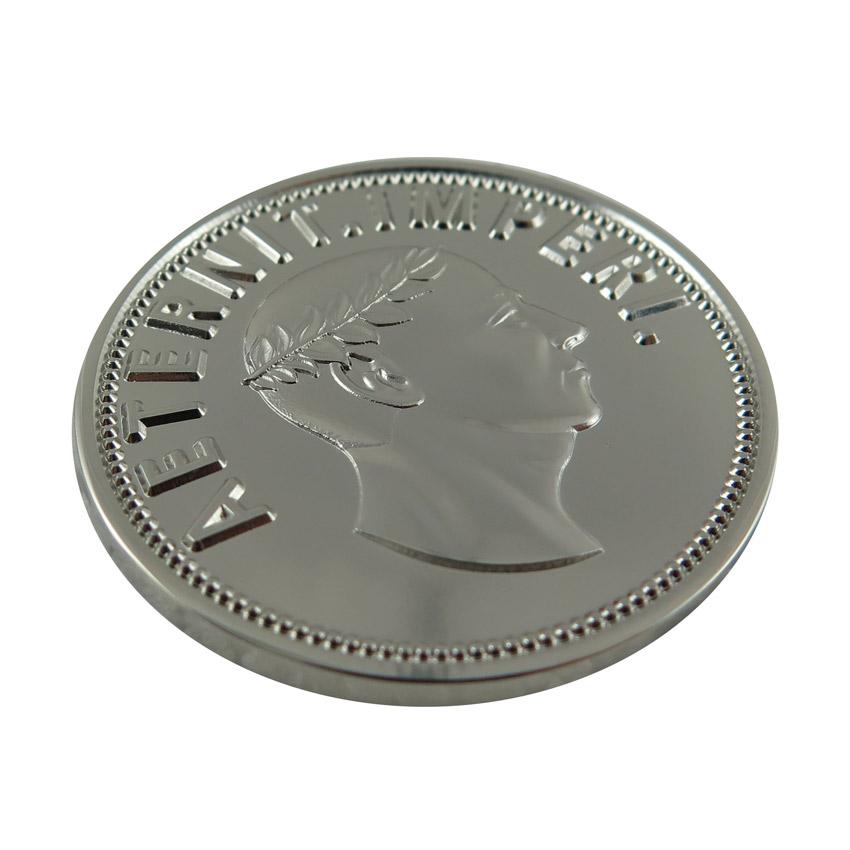 custom mirror effect mint coin