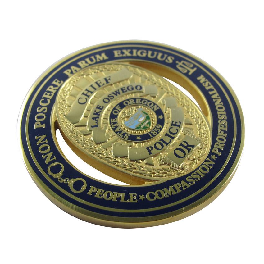 zinc alloy military award coins