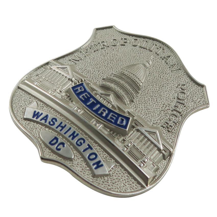 custom investigator badge