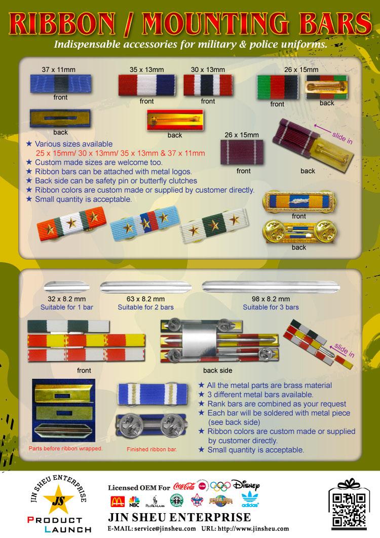 military ribbon bars supplier