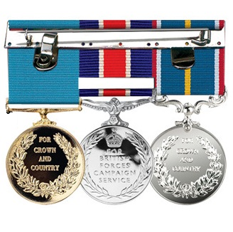 custom made medal mounting service bar