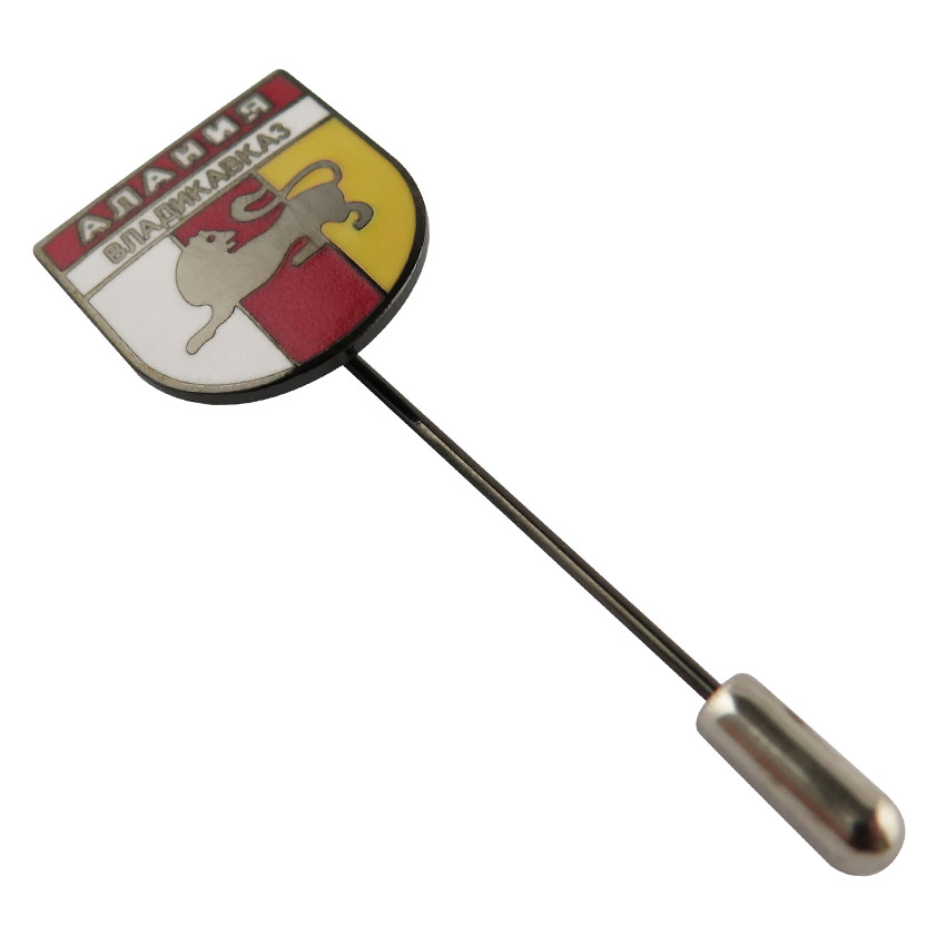 custom soft enamel lapel needle