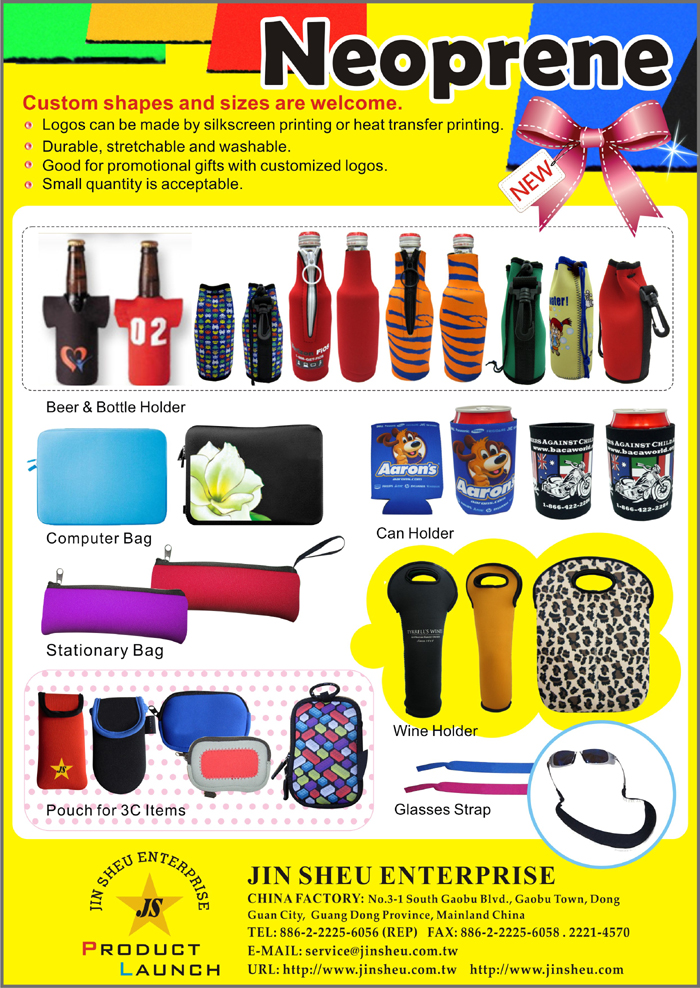 wholesale promotional neoprene products