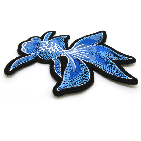sequin embroidered patch manufacturer