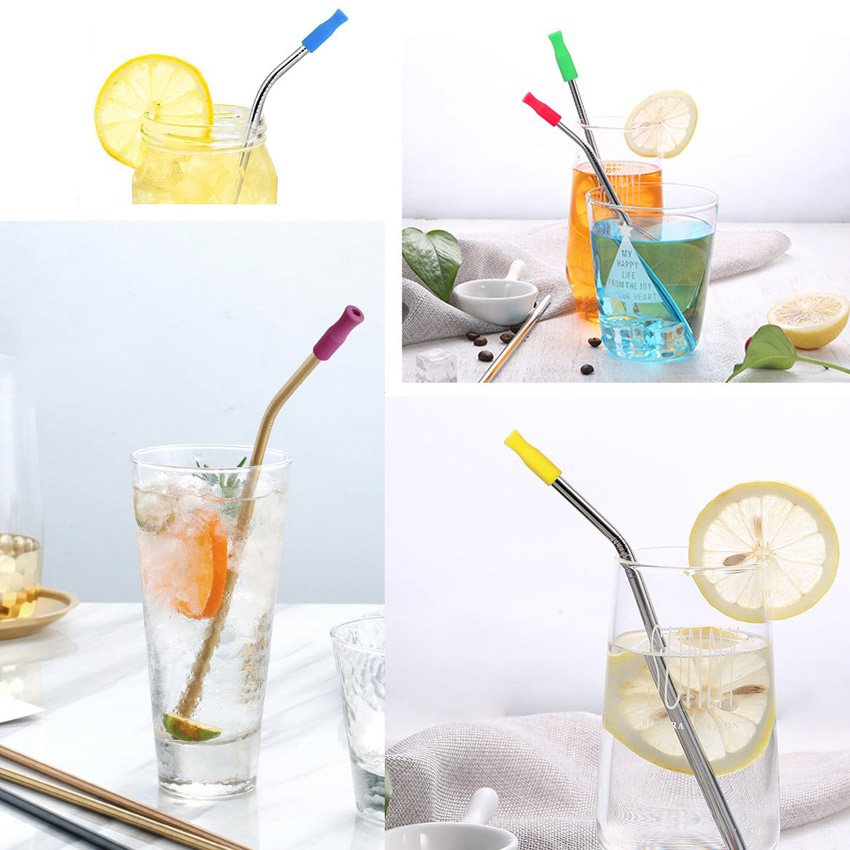 promotional metal drinking straws