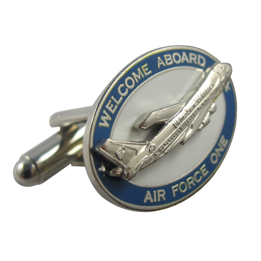custom army air force metal cufflinks