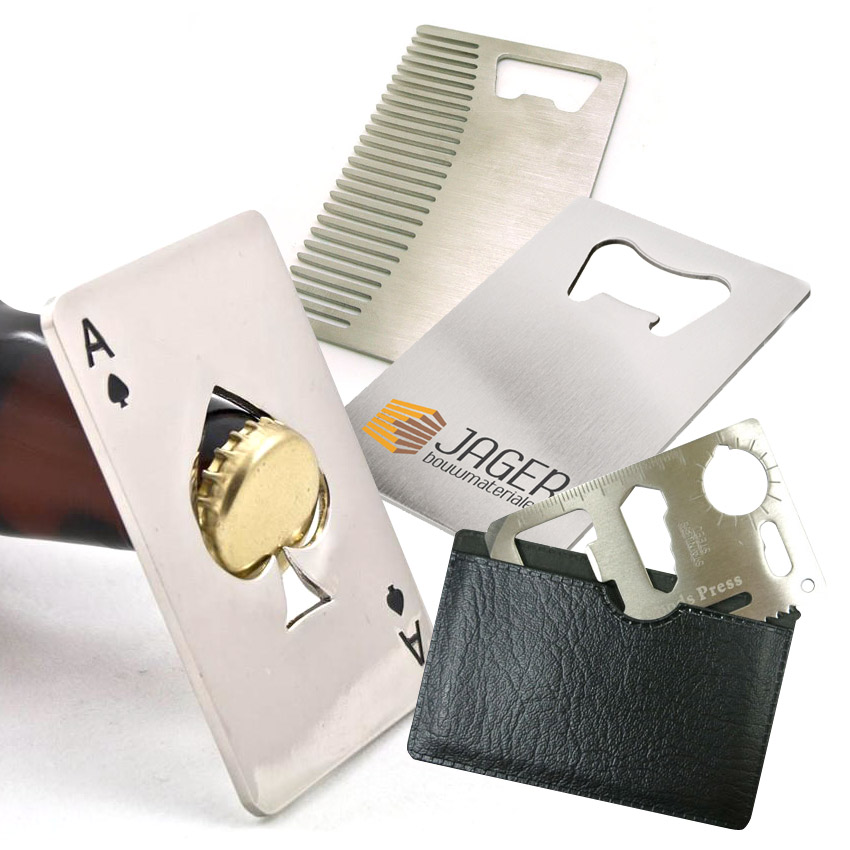 custom credit card bottle openers