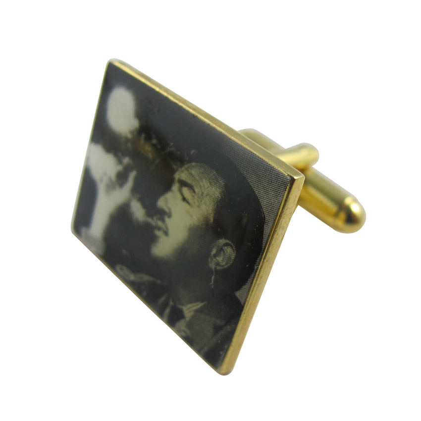 custom printed cufflink souvenir