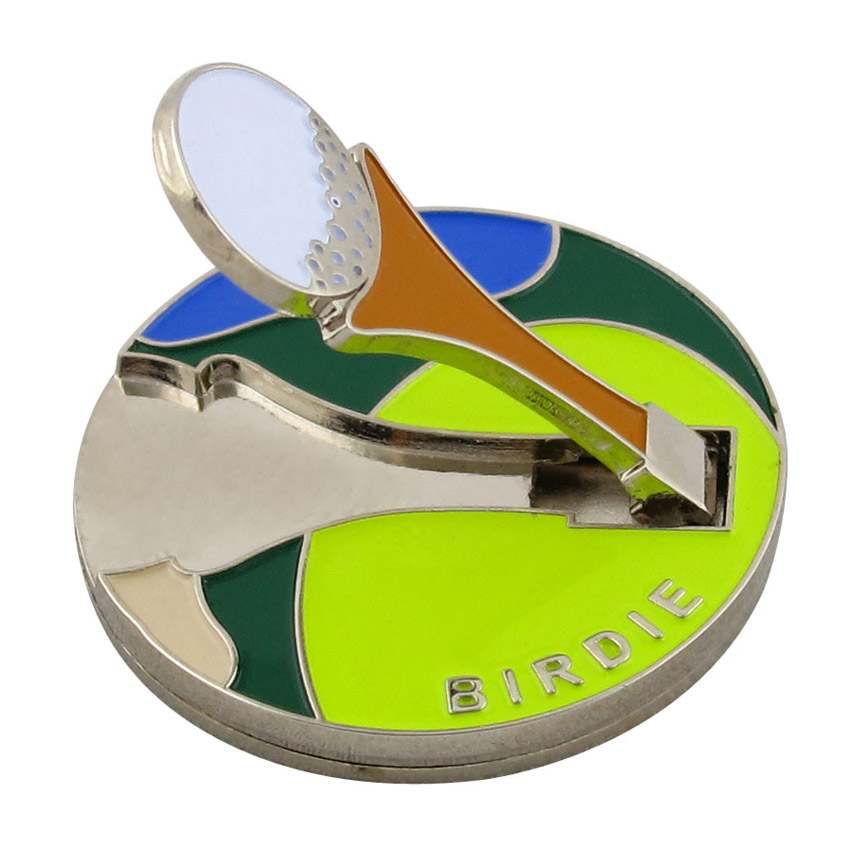 custom soft enamel ball marker