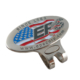custom soft enamel golf hat clip