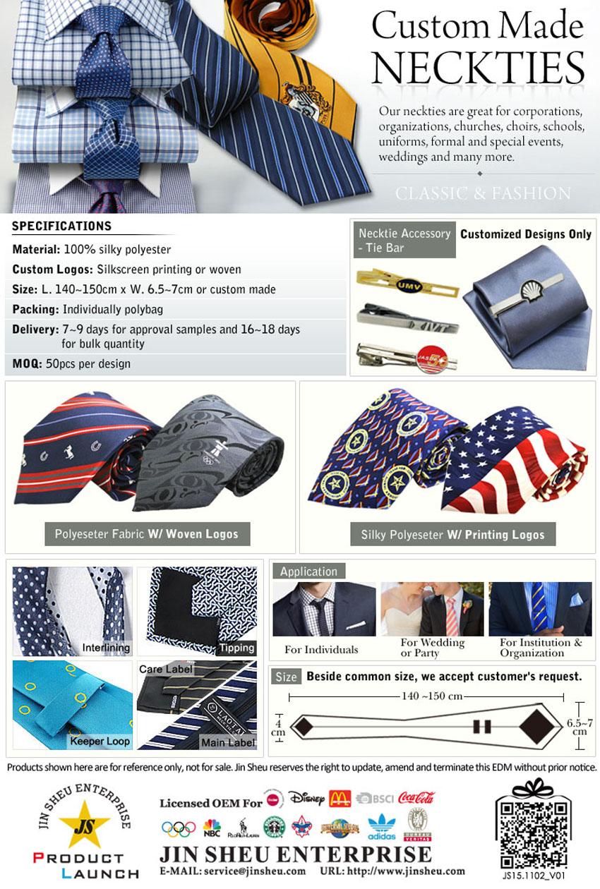 custom neckties