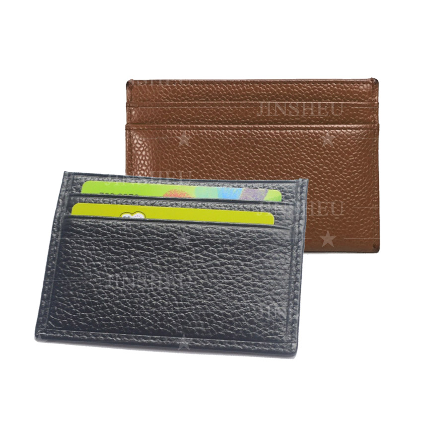 leather card holder case gift
