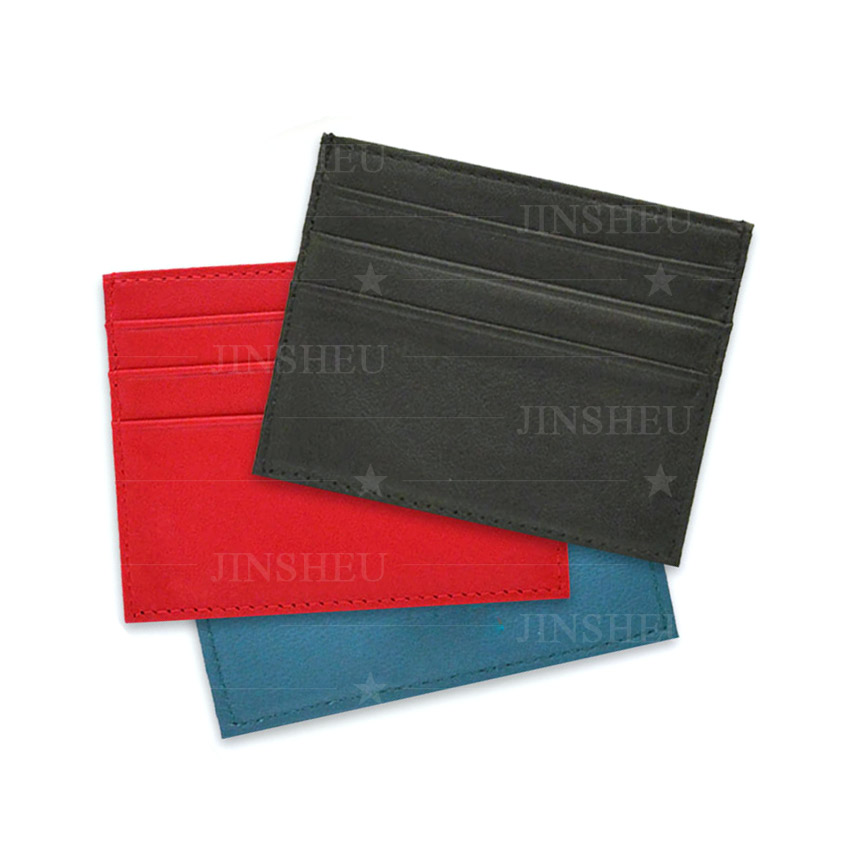 wholesale PU leather card holder sleeves