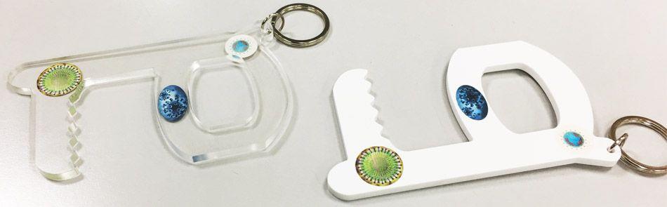 hands free acrylic door opener