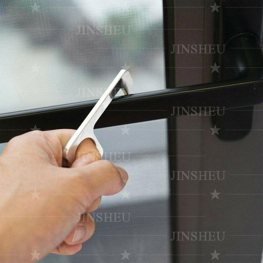 promotional chrome plated touch tool keychain