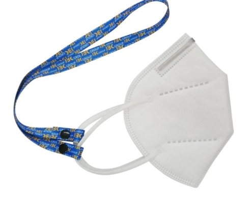 promotional flat neck strap for face mask